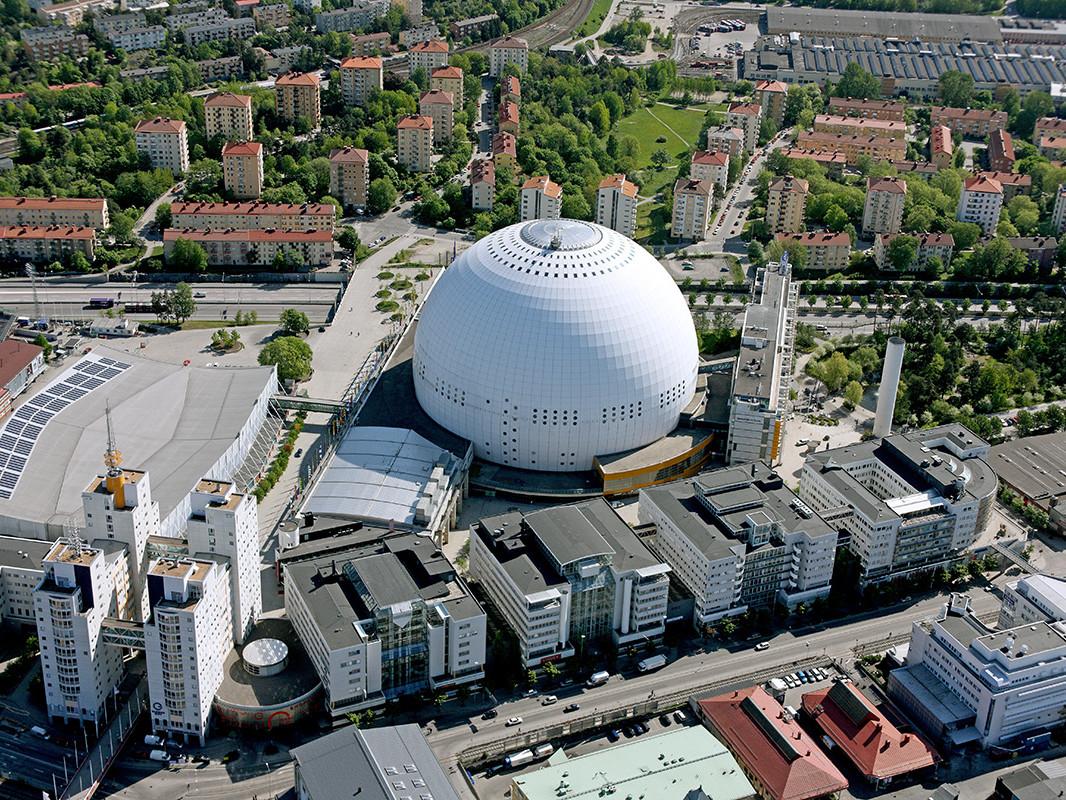 Hovet och Globen